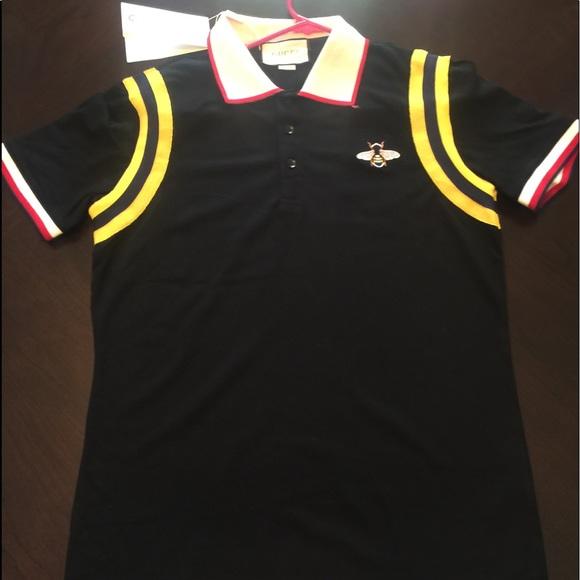 faec0c280cb Bumblebee Gucci Collar Shirt
